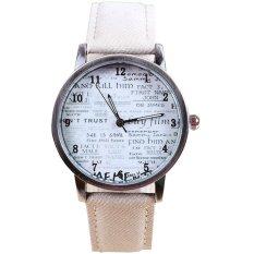 Ormano - Jam Tangan Unisex - Putih - Denim - Find Me Denim Watch