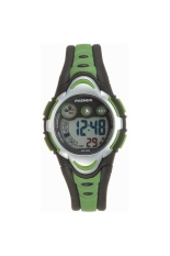 PASNEW PSE-276 Waterproof Children Students Boys Girls LED Digital Sports Watch with Date / Alarm / Stopwatch Green