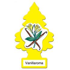 Pengaharum Mobil parfume mobil Little trees rasa vanila pride bendera amerika
