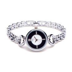 Perfect Korean Fashion Bangle Bracelet Watch Explosion Circular Flow In The Geneva Female Students Watch Quartz Watch - Intl