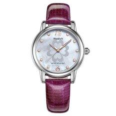 Perfect Norton Watch Strap Watch Really Female Fashion Ladies Fashion Brand Watches Table Diamond Woman 1985L - Intl
