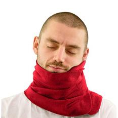 Perjalanan rumah tangga sangat lembut bantal penyangga leher/tidur bantal-merah
