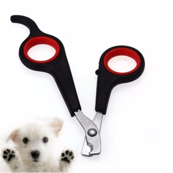 Pet Dog Puppy Cat Nail Trimmer Clipper Cutter Scissor Tools Kit - intl