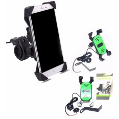Phone Holder Motor Dengan Charger 2A