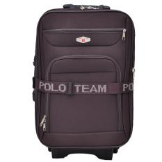 Polo Team Tas Koper 093 - 20 inch Gratis Pengiriman JABODETABEK - Cokelat