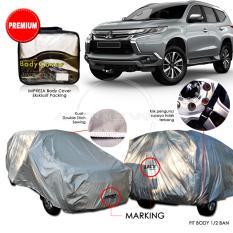 Premium Body Cover Mobil Impreza Pajero Sport - Gray