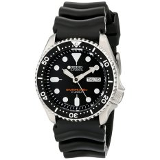 Pulsar Seiko SKX007J1 Analog Japanese-Automatic Black Rubber Diver's Watch