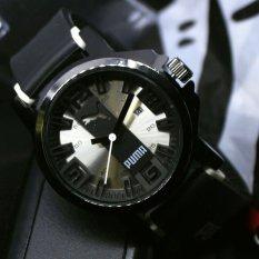 Puma - Jam Tangan Digital - Rubber Strap - PM5454NY Hitam