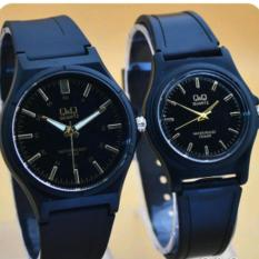 Q&Q- Jam Tangan Couple- Pasangan- QQ998GGS -Fashion Casual & Formal