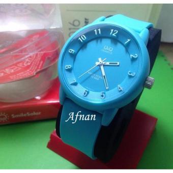 Q&Q-jam tangan pria&wanita QQ 212 MZ rubber strap-water resistant-terbaru