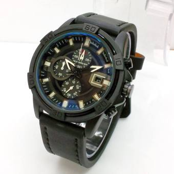 Quiksilver Chrono Kulit Leather Full Black - Daftar Harga Barang ... b9ff0027da