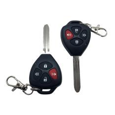 R4 Alarm Mobil Set Komplit Kunci Remote Control - 294