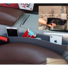 Rak Selipan Mobil / Car Seat Gap Storage/ Tempat Taro Hp, Rokok, Barang Organizer - HITAM