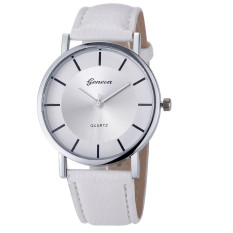 Retro Dial Leather Analog Quartz Wrist Watch Watches White