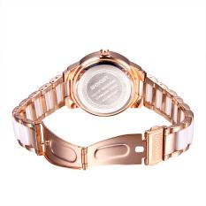 Rhinestone Rose Gold Wrist Watch Women Luxury Top Brand Fashion Ladies Watch 2016 Analog Quartz-Watch Watchs Female