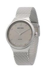 Rhythm FI1604.01 - Jam Tangan Pria - Stainless - Silver