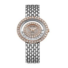 Rhythm Jam Tangan Ladies Collection - Jam Tangan Wanita - Silver - Stainless Steel - L1203.05