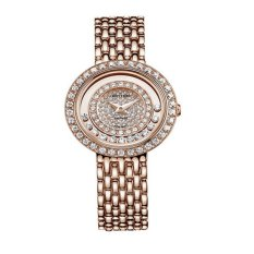 Rhythm Jam Tangan Ladies Collection - Jam Tangan Wanita - Gold - Stainless Steel - L1203.06