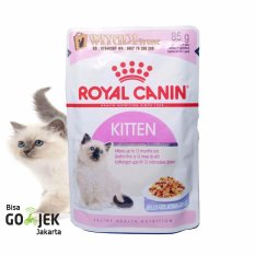 Royal Canin - Makanan Anak Kucing - RC Kitten Instinctive In Jelly 85gr