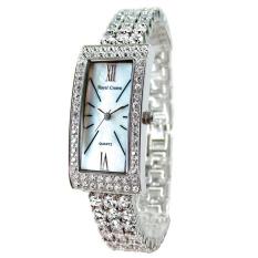 Royal Crown 2311B - Jam Tangan Wanita - Stainless - Rhodium Silver