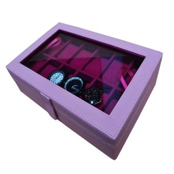 Harga Rumah Craft Kotak Jam Tangan Isi 6 - Abu Pink - PriceNia.com 2adb1e54b8