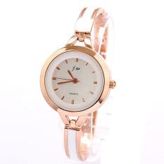 S & F Elegant Women Girl Bracelet Watch Quartz OL Ladies Wrist Watch Gold (Intl)