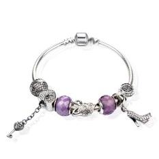 S925 Sterling Silver Bracelet DIY Heart-shaped Bracelet - Phoenix Henme Pan Home Fashion Bracelet CY18-17