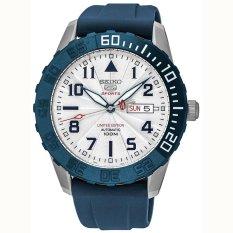 Seiko 5 Automatic Limited Edition - Jam Tangan Pria - Biru - Tali Karet - 587PRS