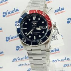 Seiko 5 Sports SNZF27K1 Automatic Pepsi Blue Dial   jam Pria SNZF27