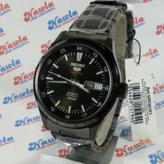 Seiko 5 Sports SRP267K1 Automatic Black IP Bracelet | Jam Pria SRP267 (Black)