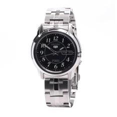 Seiko 5 Automatic Jam Tangan Pria Silver Strap Stainless Steel Source Seiko Watch .