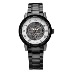 SEWOR 2016 Skeleton Watch Full Stainless Steel Mechanical Watch Men Designer Mens Watches Top Brand Luxury Clock Male Relogio - INTL