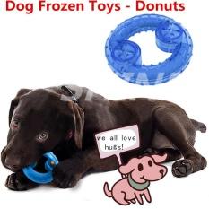 SHINE Dogs Chew Bite Food Frozen Toys Pet Cooling Toys Pet Puzzle Toys Bones Shape(BLUE) - intl