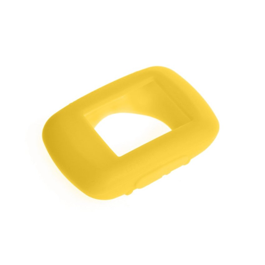 Silicone Gel Skin Case Cover for Garmin Edge 500 / 200 GPS in Yellow - intl