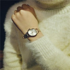 Simple Bracelet Style Lady Fashion Exquisite Fine With A Small Dial Watch - intl