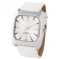 Simple Square Watch White - intl