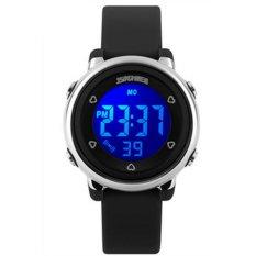 SimpleHome SKMEI 1100C LED Waterproof Multifunction Outdoor Dress Watch(BLACK)