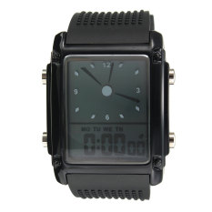 SKMEI 0814 Men's Sport Waterproof Square Dial Digital Wrist Watch