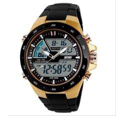 SKMEI 1016 Men Waterproof LED Sport Wrist Watch - Intl