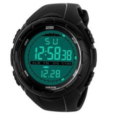 Skmei 1025 Men's Sport Waterproof Rubber LED Digital Wrist Watch