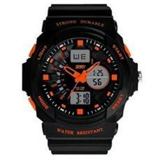 SKMEI 30 m tahan air LED elektronik Digital jam tangan Digital olahraga luar ruangan untuk 10-20 tahun Olds anak remaja laki-laki dan perempuan (s)- International