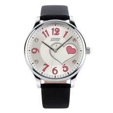 SKMEI 9085 Watch Women Brand Luxury Fashion Casual Quartz Watches Leather Sport Lady Relojes Mujer Women Girl Dress Wristwatches