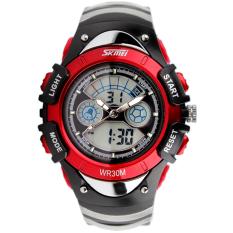 Memimpin Tanggal Stopwatch Digital Karet Jam Tangan Fashion Olahraga Hitam Harga Page 3 .