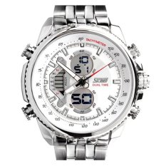 SKMEI Casio Men Sport LED Watch Water Resistant 50m - AD0993 - Putih Kualitas Original Garansi 1 Bulan