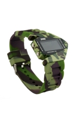 SKMEI Cool Airplane Shaped Men's Waterproof LED Digital Sports Watch with Date / Alarm / Stopwatch / Package Box Camouflage