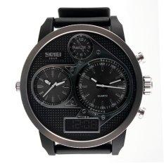SKMEI 1033 Men's Sport Waterproof LED Digital Analog Quartz Wrist Watch