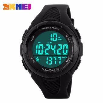 SKMEI Jam Tangan Digital Day Date Stopwatch Garansi 1 Bulan DG1108S - Hitam