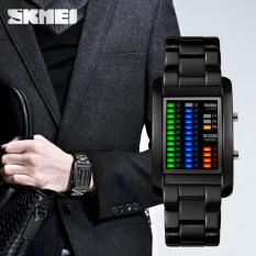 SKMEI LED display waterproof pria menonton indah Watch