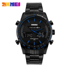 SKMEI Multifunctional Fashion Watch Water Resistant - AD1131 -Biru