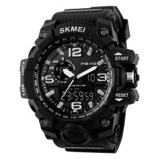 SKMEI New 2016 Luxury Brand LED Military Waterproof Wristwatch Fashion Sport Super Cool Men's Quartz Analog Digital Watch Man Sports Watches